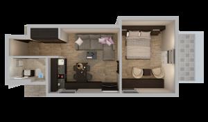 Jednosobni apartman